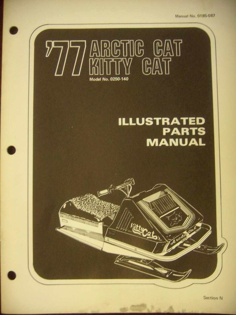 1977 Kitty Kat Parts Manual