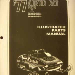 1977 Z Parts Manual