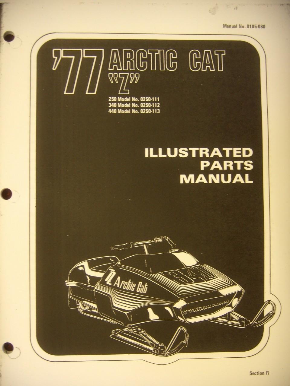 1977 Z Parts Manual arctic cat reproduction parts nos arctic cat parts arctic 1973 arctic cat cheetah 440 wiring diagram at n-0.co