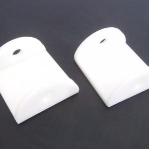 Ski saddle slide - (white)